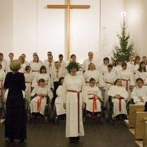 Artikkelin Lucia-päivän joulukonsertti 13.12. esikatselukuva