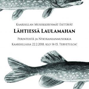 Artikkelin Lähtiessä laulamahan -konsertti TO 22.2. esikatselukuva