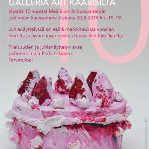 Artikkelin Galleria Art Kaarisillan Juhlanäyttely esikatselukuva
