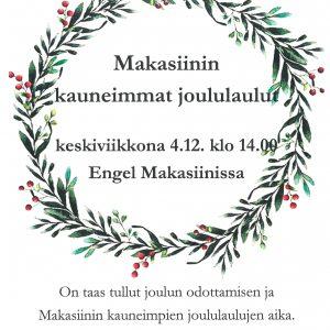 Artikkelin Makasiinin joululaulut ke 4.12.2019 esikatselukuva