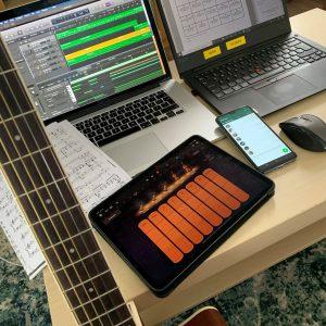 Artikkelin Musiikinopettajan etätyöterveiset esikatselukuva